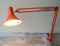 Vintage Luxo L1 Angelpose Drafting Lamp by WhatsNewOnTheMantel