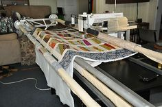 Quilting Frame John Watts 2.8m Suits any sewing machine - short or long arm $900 near toowoomba