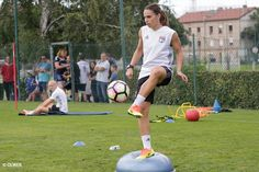Photo - Entraînement de l'OL féminin du 29 Août - olweb.fr