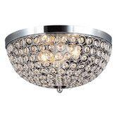 70.95 Found it at AllModern - Elegant Designs 2 Light Flush Mount