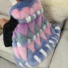 2015 осень и зима Новый стиль искусственного меха лисы жилет женский мода лисицы короткая конструкция жилет элегантный шуба на продажу(China (Mainland))