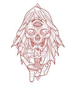 Vida Loca Tattoo Bolton Artist Jamie Winters Skull Design Vidalocatattoo Tattooartist