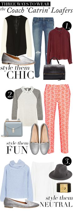 Three Ways To Wear The Coach 'Catrin' Loafers