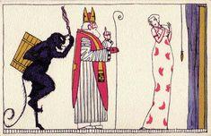 890. Arnold Nechansky - Wiener Werkstatte postcard