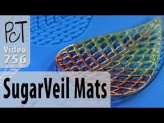 Using SugarVeil Silicon Mats To Make Polymer Clay Lace