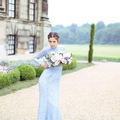 TH&TH love the stunning 'Alara' dress and our beautiful bridesmaid agrees.