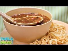 Manchow Soup by Tarla Dalal