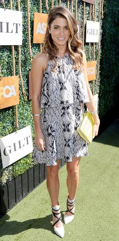 Look of the Day - October 4, 2014 - Nikki Reed from #InStyle