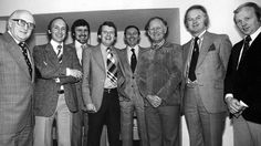 Sports presenter Tony Gubba (far right) has died at the age of 69 following a short illness. Gubba worked on Sportsnight, Match of the Day and Grandstand but most recently as a commentator on ITV series Dancing On Ice. He is seen here with colleagues from BBC Sport in a publicity picture ahead of the 1978 World Cup in Argentina.