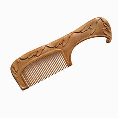 Wood Hair Comb Wooden Hair Combs Hand Wood by mariya4woodcarving
