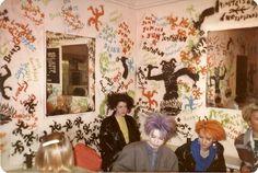 London, England  Kensington Market- 1985