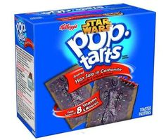 Can you picture a better night than sitting at home with a box of Kellogg's Pop Tarts and the entire series of Star Wars movies? Ok, maybe it would be better if you had some Star Wars custom Pop Tarts. Pop Tarts, Funny Food Memes, Food Humor, Funny Pranks, Pop Tart Flavors, Weird Oreo Flavors, Han Solo Frozen, Just In Case, Just For You