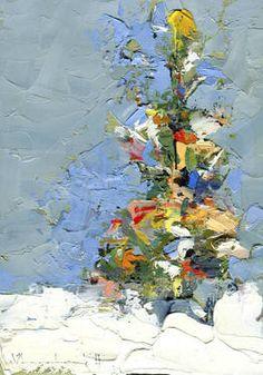 "Saatchi Art Artist John W Shanabrook; Painting, ""O Christmas Tree"" #art"