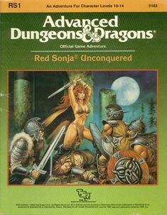 Advanced Dungeons & Dragons Archive: Red Sonja Unconquered