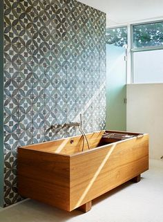 Spice up your plain Jane bathroom with an awesome tub!!