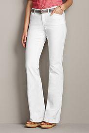 White Denim Trouser Jeans.  Sizes 2-24W. Tall to 20T. Petite to 18P.