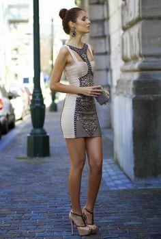 Fascinantes vestidos de moda cortos para el verano   Vestidos de Moda