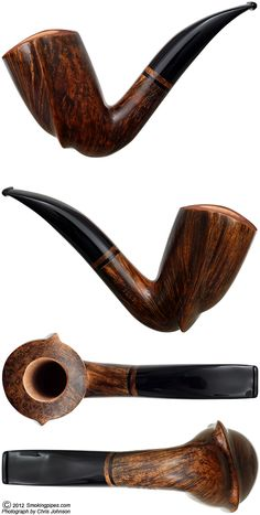 Smooth Freehand Bent Dublin (9mm)