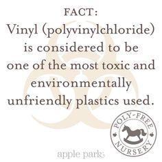 One of the many reasons that a #polyfreenursery is critical for baby