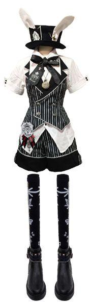 Love the vest コーディネート|ゴスロリ通販 PUTUMAYO Lolita Bunny fashion