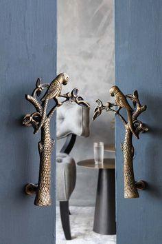 Search results for: 'home accessories cupboard door knobs set of 2 beautiful brass parrot door handles' Brass Door Handles, Cupboard Handles, Door Knobs, Kitchen Handles, Cabinet Knobs, Art Deco Door, Interior Design Layout, Sculpture Metal, Rockett St George