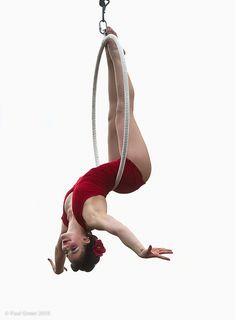 aerial hoop by Alexandra Hofgartner