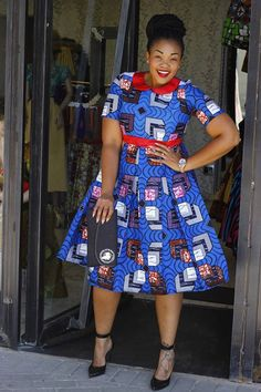 Online Hub For Fashion Beauty And Health: Elegantly Fabulous Ankara Midi Gown Style For The . African Print Dresses, African Print Fashion, Africa Fashion, African Fashion Dresses, African Dress, African Prints, African Attire, African Wear, African Women