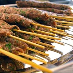 Simple Syrian Kafta Kabobs