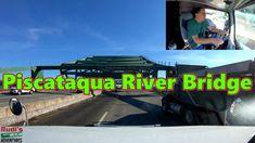 Piscataqua River Bridge Rudi's NORTH AMERICAN ADVENTURES 03/12/18 Vlog#1370 - YouTube Bridge, River, Adventure, American, World, Youtube, The World, Fairytail