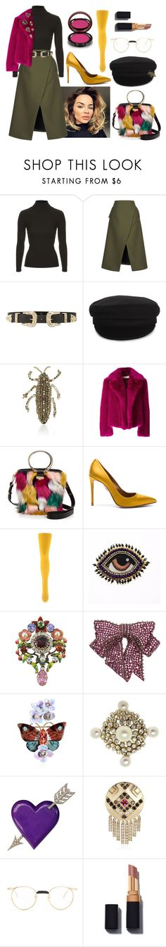 """""""Untitled #1410"""" by denisaalexandraa ❤ liked on Polyvore featuring Topshop, Josh Goot, B-Low the Belt, Étoile Isabel Marant, Dice Kayek, Dries Van Noten, Milly, Aquazzura, Le Bourget and Gucci"""
