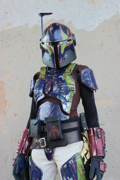TNXBcreations teamed up with Anna Von Winter to create this custom Mandalorian. Check out the gallery here: http://on.fb.me/12MuBkh  -DP