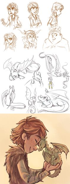 Best Ideas For Disney Concept Art Sketches Train Your Dragon Heroes Disney, Disney Art, Character Design Cartoon, Character Sketches, Animation Character, How To Train Dragon, How To Train Your, Disney Sketches, Disney Drawings