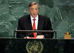 SEPTIEMBRE 21, 2004 Discurso de Néstor Kirchner en la ONU, 2004