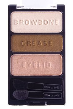 Wet N Wild Color Icon Eyeshadow Trio 380B Walking on Eggshells.     This eyeshadow kit is such a great neutral color combo.