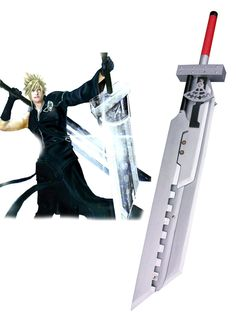 Final Fantasy VII: Advent Children Cloud Strife Fusion Swords Cosplay Weapon - Cosplayshow.com by Milanoo