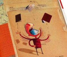 The Incredible Book Eating Boy by Oliver Jeffers: 'Hernry loves books, but not like you and I, not quite. HENRY loves to EAT books. And here is the BEST bit: the more he eats, the smarter he gets.' #Books #Picture_Books #Kids #Oliver_Jeffers