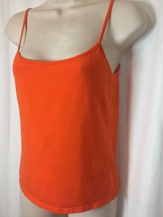 1030816 Ralph Lauren Collection Orange Cami Purple Tag M Shelf Support Tank Top   eBay