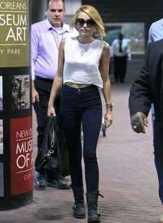 Miley High-waisted Jeans