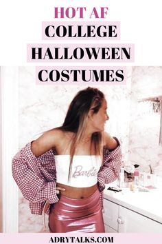 Looking for an insanely cute and hot Halloween costume? Here are 15 super cute and unique college costumes that you can DIY and look amazing at your college Halloween party! Zombie Couple Costume, Skeleton Halloween Costume, Trendy Halloween, Homemade Halloween Costumes, Last Minute Halloween Costumes, Halloween Costumes For Teens, Halloween Party, Feminist Halloween Costumes, Zombie Costumes