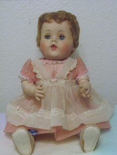 American Character Doll Toodles Baby Doll Vintage 1950's 1960's http://www.bonanza.com/listings/American-Character-Doll-Toodles-Baby-Doll-Vintage-1950-s-1960-s/213207540?st_id=27767367