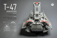 https://flic.kr/p/s31WJt | T-47 Snowspeeder (Airspeeder) | Incom Corporation Repulsorcraft Class