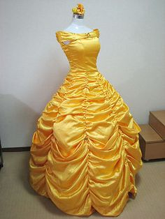 Disney Beauty and The Beast Great Dress Handmade Original Christmas Gift New | eBay