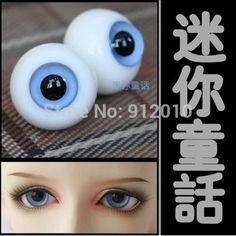New 20MM Dark Blue Glass BJD Eyes For DOD DZ AOD Volks Reborn//newBorn Doll