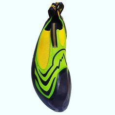 The La Sportiva Speedster is a super sensitive slipper with a pronounced downturn which fits like a second skin, ideal for steep bouldering. Cleats, Climbing, Slippers, Sneakers Nike, Instagram Posts, Shoes, Football Boots, Nike Tennis, Zapatos