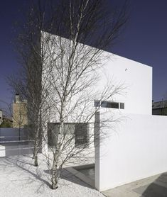 This exclusive design of Molimer House was finished by the architect Alberto Campo Baeza for a poet. The house that is mostly finished in white was built Art Et Architecture, Minimalist Architecture, Residential Architecture, Contemporary Architecture, Architecture Details, Minimalist Garden, Minimalist Home, John Pawson, Spanish House