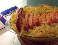 Recipe: Delicious smoked pork with sauerkraut from the oven. A hearty meal and i . - Recipe: Delicious smoked pork with sauerkraut from the oven. A hearty meal and quickly made in the - # Italian Chef, Italian Recipes, Rib Recipes, Veggie Recipes, Benefits Of Potatoes, Delicious Desserts, Yummy Food, Apple Sausage, Smoked Pork