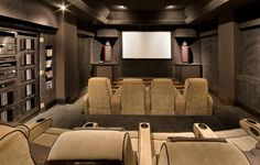 Now that's a home theater room