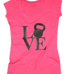 Camiseta fitness  Love Kettlebell  Crossfit  Workout a8df4725df2
