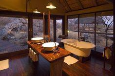 African Safari Lodges in Botswana and Namibia