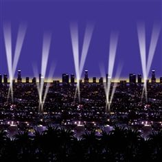 Party Supplies | New Year's Eve | City Scene...Add some flare to your New Year's Eve party by decorating with this Skyline Backdrop! This beautiful city scape is a great way to make your guests feel like they stepped into New York City!